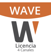 WAVE-PRO-04   Licencia de 4...